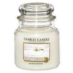 Yankee Candle dišeča sveča - mehke brisače, 410 g
