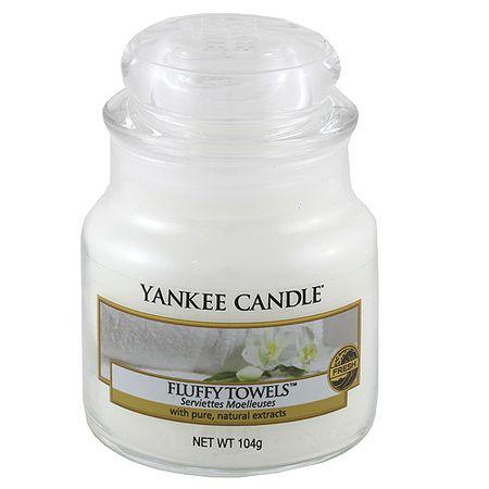 Yankee Candle Classic malý - Našuchorené uteráky, 104 g
