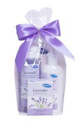 Kappus Darčekový balíček Levanduľa (telový šampón 250 ml, telové mlieko 200 ml, tuhé mydlo 125 g)