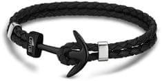 Lotus Style Bőr horgony karkötő LS1832-2/6