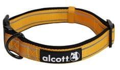 Alcott Nylon Fényvisszaverő nyakörv, Narancssárga