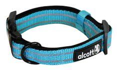 Alcott Reflexní obojek pro psy modrý