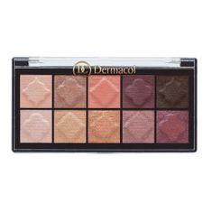 Dermacol Paletka matných a perleťových očních stínů (Matt & Pearl Eyeshadow Palette) 7 g