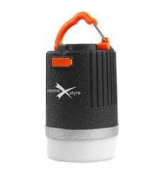EXTREME STYLE Kempingová lampa Power Box s nabíjacou funkciou pre mobilné zariadenia