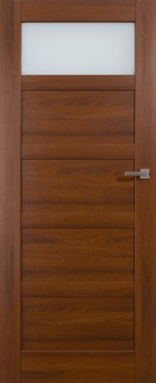 VASCO DOORS Interiérové dveře BRAGA kombinované, model 2, Dub riviera, A