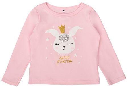 Garnamama dívčí tričko Rabbit 80 růžová