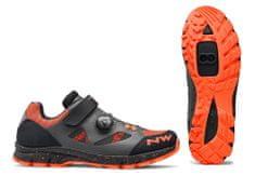 Northwave  Terrea Plus Wmn dámské MTB tretry Anthracite/Lobster Orange