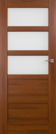 VASCO DOORS Interiérové dveře BRAGA kombinované, model 4, Dub riviera, A