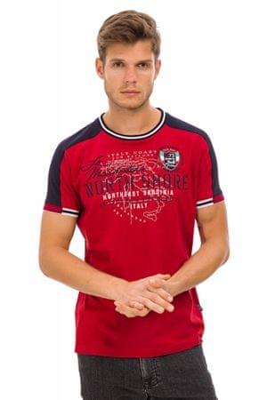 Galvanni pánské tričko Bronderslev M červená