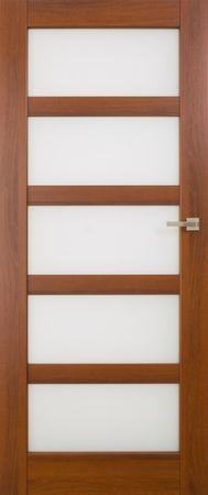 VASCO DOORS Interiérové dveře BRAGA skleněné, model 6, Dub sonoma, A