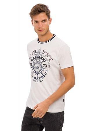 Galvanni pánské tričko Ebeltoft M bílá