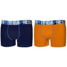 Freegun dječje bokserice, 2kom, plave+narančasta
