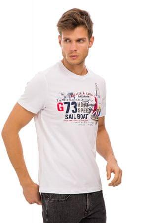 Galvanni pánské tričko Grena XL bílá