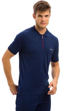 Galvanni koszulka polo męska Hereford M ciemny niebieski