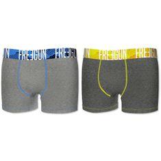 Freegun muške bokserice, 2kom, plave+žute