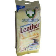 Greenshield upratovacie obrúsky na kožu, 50 ks