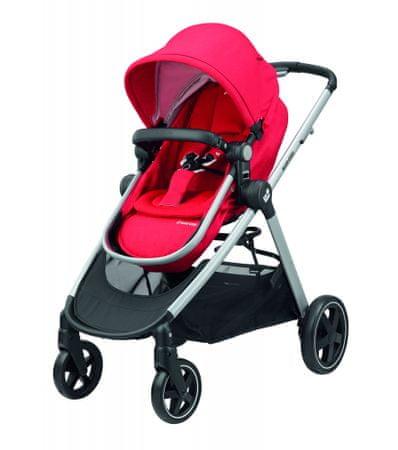 Maxi-Cosi otroški voziček Zelia Nomad red, rdeč