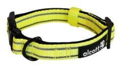 Alcott najlon ovratnica z odsevnimi elementi, rumena