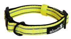 Alcott Nylon Fényvisszaverő nyakörv, Sárga