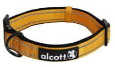 Alcott Reflexní obojek pro psy, oranžový