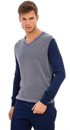 Galvanni pánský svetr Leeds M tmavě modrá