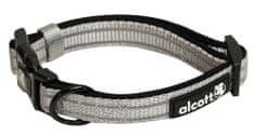 Alcott Reflexní obojek pro psy šedý