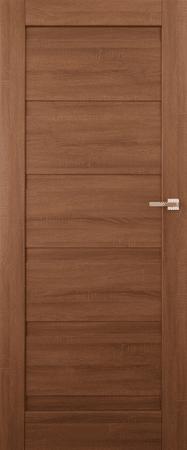 VASCO DOORS Interiérové dveře EVORA plné, model 1, Merbau, A