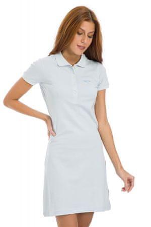 Galvanni dámské šaty Mors S světle modrá