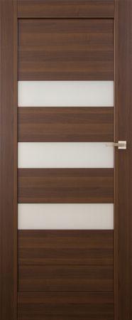 VASCO DOORS Interiérové dveře SANTIAGO kombinované , model 6, Merbau, C