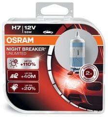 Osram par žarnic H7 - 55W - 12V Night Breaker Unlimited