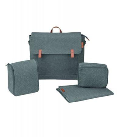Maxi-Cosi potovalna torba Modern Bag Sparkling grey, siva