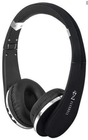 Trevi brezžične Bluetooth slušalke DJ 1200 BT + mikrofon, črne