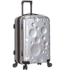 Sirocco potovalni kovček T-1194 /3-L PC, srebrn