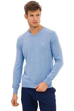 Galvanni moški pulover Odder, L, svetlo moder