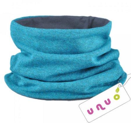 Unuo Chlapecký nákrčník Aqua melír univerzální modrý