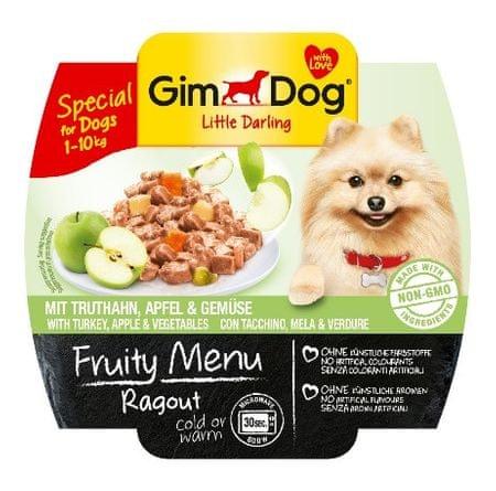 Gimborn Paštika Gimdog Fruity Ragout krocan + jablko + zelenina 100g