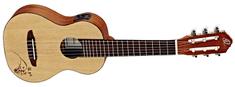 Ortega RGL5E Elektroakustické gitarové ukulele