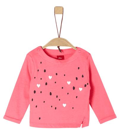 s.Oliver lány póló 68 rózsaszín
