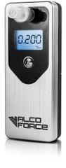 AlcoForce Osobní alkoholtestr MASTER, stříbrný, ekonomický model