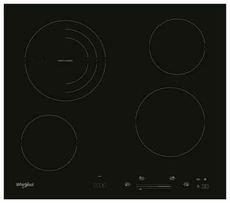 Whirlpool AKT 8900 BA steklokeramična plošča