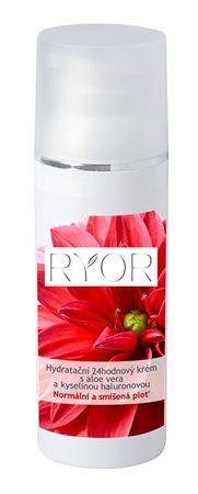 RYOR Hidratáló 24 órás krémaloe vera kivonattal és hialuronsavval 50ml