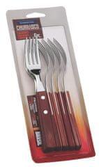 Tramontina CHURRASCO vidlička steaková 6 ks červené dřevo