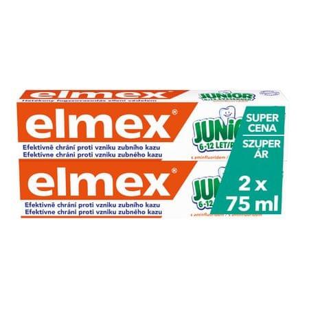 Elmex Junior Fogkrém, 2 x 75 ml