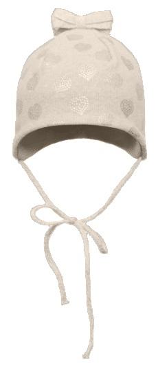 Broel dívčí čepice Amelie 43 krémová