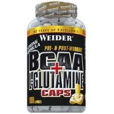 Weider BCAA + L-Glutamine 180 kapslí