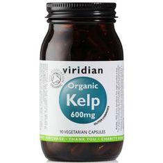 VIRIDIAN nutrition Organic Kelp 600mg 90 kapslí