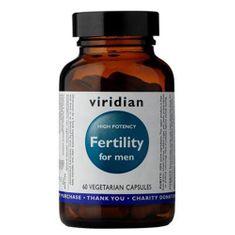 VIRIDIAN nutrition Fertility for Men 60 kapslí