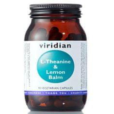 VIRIDIAN nutrition L-Theanine & Lemon Balm 90 kapslí