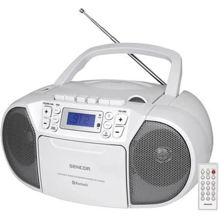 SENCOR Radiomagnetofon SPT 3907, biały
