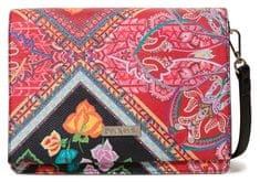 Desigual červená crossbody kabelka Bols Folklore Cards